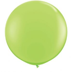 3ft Giant Balloons - Large Lime Green Round Latex Balloon